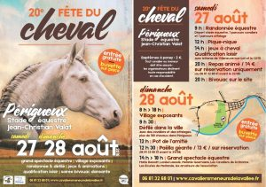Fête du Cheval 2016 Flyer A5 Recto-verso